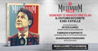 Il futuro di Conte e dei 5 Stelle. MillenniumM Live con Peter Gomez e Gianfranco Pasquino