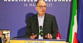 """Pd, Letta: """"Il nostro partito deve far parlare i giovani, ora battaglia per dare il diritto di voto ai sedicenni"""""""