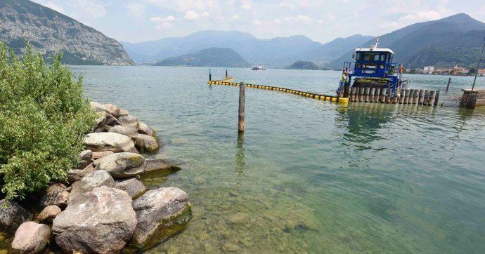 """Rischio di una maxi-frana sul lago d'Iseo, M5s: """"Chiediamo lo stato d'emergenza"""". Esperti: """"Se si stacca, possibile onda anomala"""""""