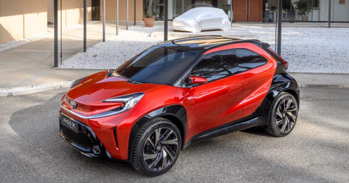 Toyota conferma il nome del nuovo crossover compatto: si chiamerà Aygo X