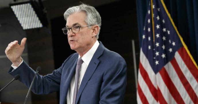 """L'economia Usa corre, la Fed alza le previsioni sul Pil 2021 al 6,5%. Rialzi dell'inflazione """"temporanei"""""""