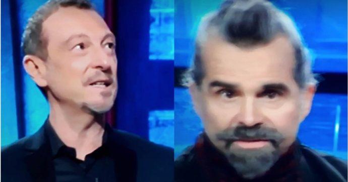 """I Soliti Ignoti, Piero Pelù spiazza Amadeus con la sua risposta. Il conduttore allibito: """"Oddio, ci avevo creduto"""""""