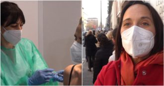 """Astrazeneca, a Milano ripartono i vaccini per gli insegnanti. In coda anche chi non ha ricevuto sms di disdetta: """"Ma cerchiamo di farlo a tutti"""""""