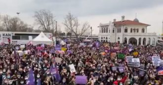 """La Turchia si è ritirata dalla convenzione di Istanbul contro la violenza sulle donne. Ue: """"Enorme passo indietro"""""""