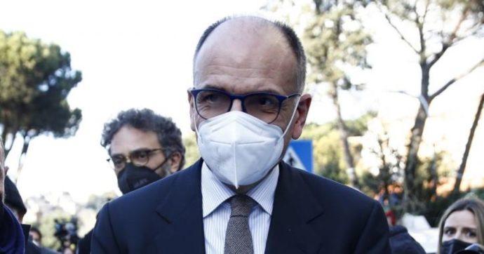 """Letta: """"Alleanza con M5s per battere la destra. Conte leader è buona notizia, sicuro che ci capiremo. Dialogo con Renzi? Dipende da lui"""""""