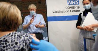 Vaccini, Gran Bretagna: record di inoculazioni, 873.784 in 24 ore. L'Italia ne farà in media 200mila al giorno anche la prossima settimana