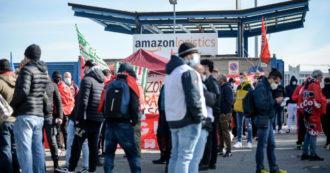 """Sciopero Amazon, Cgil: """"Adesioni al 75%"""". L'azienda: """"Non oltre il 20%"""". Solidarietà ai dipendenti anche dagli Usa"""