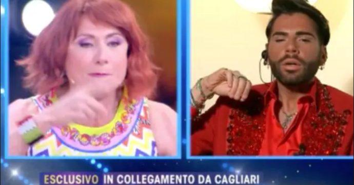 """Live Non è La D'Urso, Vladimir Luxuria contro Federico Fashion Style per il viaggio in Sardegna: """"Odioso"""". Lui: """"Ho fatto quello che si poteva fare"""""""