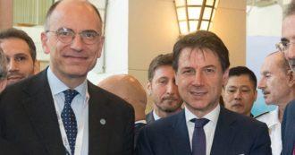 """Prove di coalizione: Letta incontrerà Conte. Capigruppo Pd, stallo in Senato. Marcucci: """"Anche il segretario dovrebbe essere donna"""""""