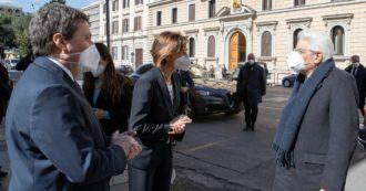 """Il presidente Mattarella al Csm con la ministra Cartabia: """"Sulla giustizia sono attesi necessari e importanti interventi riformatori"""""""