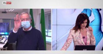Vaccini, quando sarà il turno dei vulnerabili in Lombardia? Bertolaso si arrabbia e abbandona l'intervista con SkyTg24 – Video