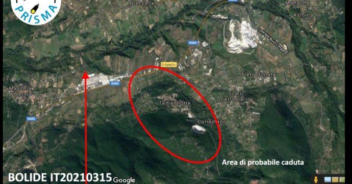 """Meteorite caduto in Molise, via alle ricerche. L'Istituto di astrofisica: """"La popolazione si unisca a noi"""". Le regole in caso di ritrovamento"""