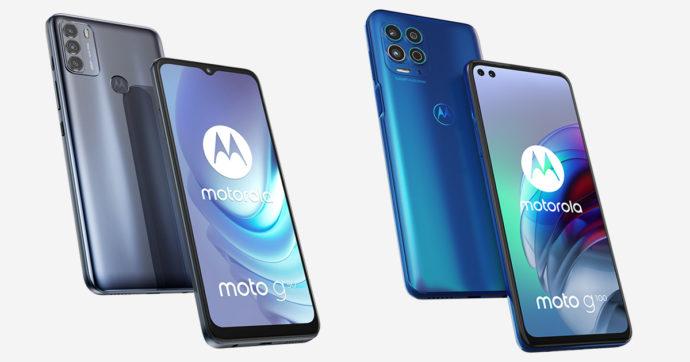Motorola amplia la sua offerta 5G nella fascia media con Moto g50 e g100