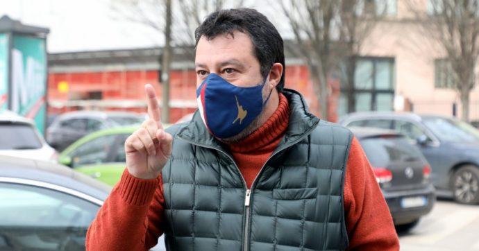 """Salvini minaccia di nuovo il governo: """"Bisogna riaprire tutto in sicurezza dopo Pasqua"""""""
