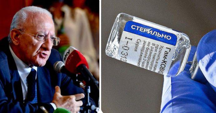 Covid, la Campania comprerà il vaccino Sputnik. Contratto con fondo russo che diventerà efficace quando Ema darà via libera