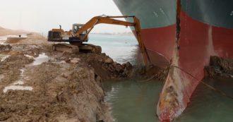 Canale di Suez bloccato, Egitto:
