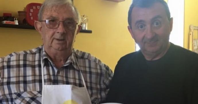 """Roberto Bicocchi, morto per Covid il papà del comico Vito. Pierluigi Bersani commosso: """"Con te se ne va un mondo"""""""
