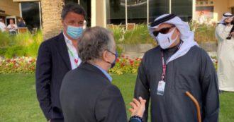 Matteo Renzi di nuovo in Medio Oriente: è in Bahrain al Gran Premio di Formula 1