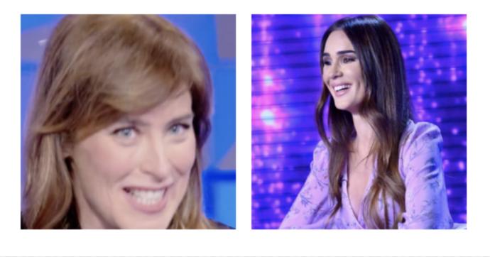 """Maria Elena Boschi e lo """"studio fertile"""" di Silvia Toffanin: """"Tu lo sai che porta bene eh?"""""""