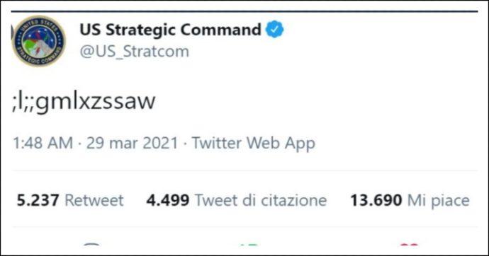 Usa, bimbo scatena il caos twittando dall'account dell'agenzia responsabile per le armi nucleari: ecco cosa è successo