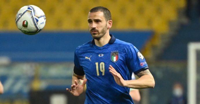 Focolaio nella Nazionale italiana: 5 positivi al Covid, tra cui Leonardo Bonucci