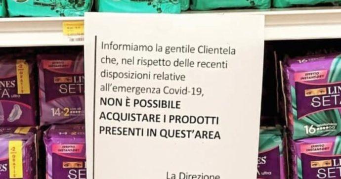 """Lecce, vendita di assorbenti vietata dopo le 18. La denuncia: """"Non solo l'Iva, in zona rossa niente mestruazioni?"""". Regione cambia le Faq"""