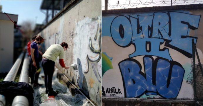 """Giornata autismo, a Milano un murales di 25 metri celebra l'inclusione: """"Così chi lo guarda si ricorderà che esistiamo anche noi"""""""