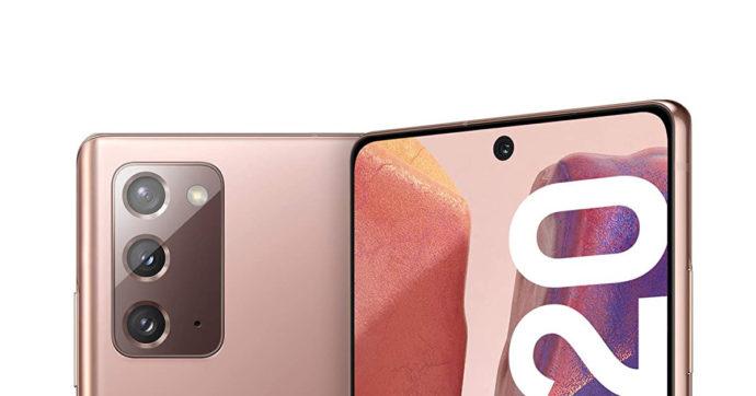 Samsung Galaxy Note 20 5G in offerta su Amazon con 431 euro di sconto