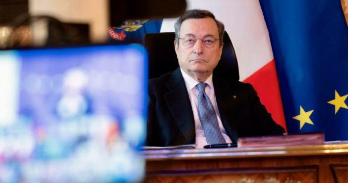 Draghi sta tentando di buttare giù la maschera ma è destinato al fallimento