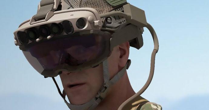 La guerra del futuro? si combatterà con i visori Microsoft per la realtà aumentata