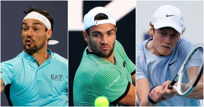 Per la prima volta dieci italiani nella Top 100 del tennis mondiale: il nuovo record azzurro