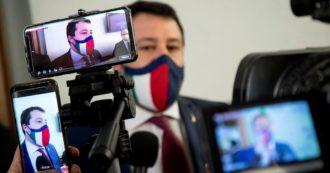 """Coprifuoco, Salvini dà la colpa a Letta: """"Lega fuori dal governo? Provoca sempre. Accordo con Draghi, aggiornamento a metà maggio"""""""