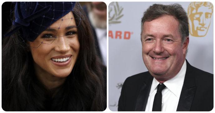 """Piers Morgan contro Meghan Markle: """"Conoscevo bene Lady Diana, sarebbe rimasta inorridita da tutto questo"""""""