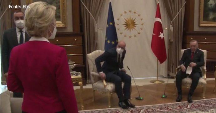 Il 'ceffone' maschilista di Erdogan a Ursula von der Leyen va oltre la politica o la cortesia