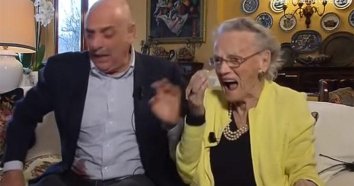 """Anna Brosio, la mamma di Paolo Brosio compie 100 anni e si scatena contro la sua fidanzata: """"Ma che nuora! Non accetto cose improvvisate"""""""