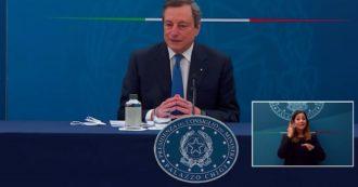 """Von der Leyen, Draghi: """"Con dittatori come Erdogan è fondamentale essere franchi e cooperare. Dispiaciuto per l'umiliazione"""""""