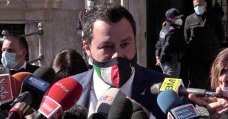 """Salvini: """"In questo momento ci sarebbero sei Regioni in cui si potrebbe riaprire. Dl Sostegni? Serve decreto da almeno 50 miliardi"""""""