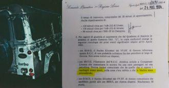 """Moby Prince, il documento dell'Aeronautica in esclusiva: """"La Capitaneria a mezzanotte disse che erano tutti morti e rifiutò gli elicotteri"""""""