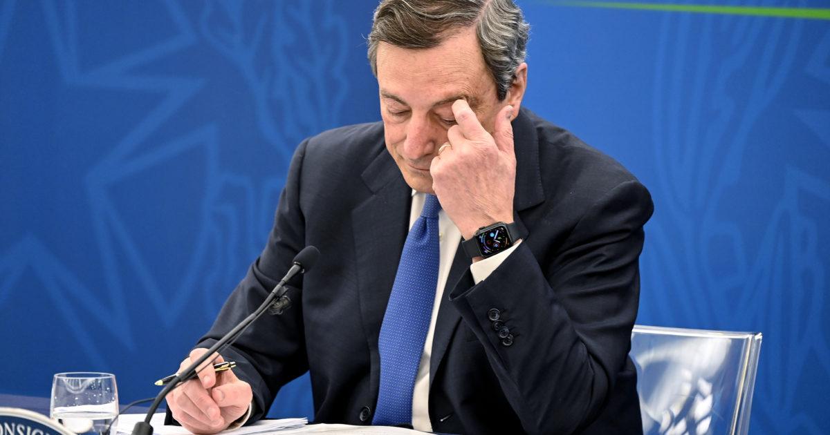 Il Fatto di domani. La psico-gaffe di Draghi che non ha letto il suo decreto. Condono bocciato da Bankitalia e Corte dei Conti