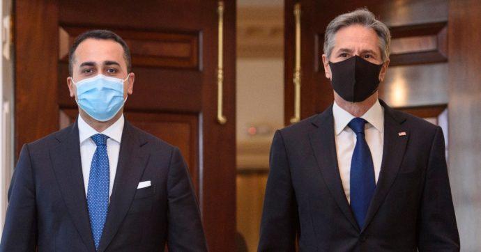 """Di Maio incontra Blinken: """"Pensiamo anche noi a un inviato per il clima"""". Il segretario di Stato Usa: """"Leadership italiana cruciale"""""""
