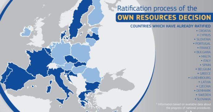 Recovery fund, mancato l'obiettivo Ue delle ratifiche entro marzo. Ed è scontro sulle nuove tasse per ripagare i 750 miliardi di debito