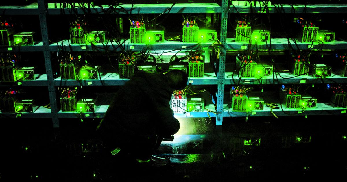 estrazione di bitcoin