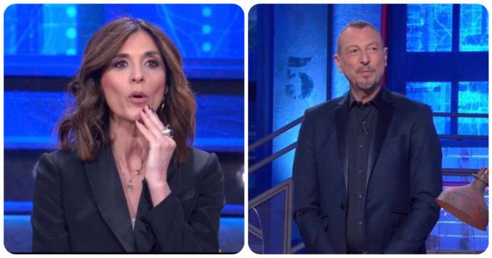 """I Soliti Ignoti, il concorrente spiazza Emma D'Aquino e Amadeus: """"Ha fretta? Ora prende la bici e se ne va"""""""