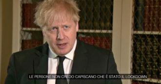 Reino Unido, Johnson: