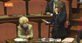 """Liliana Segre in Senato per la cittadinanza italiana a Patrick Zaki. Verducci (Pd): """"La sua presenza è monito contro ogni discriminazione"""""""