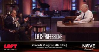 """Cecchi Paone a La Confessione (Nove) Di Peter Gomez: """"In Rai editto contro di me quando feci coming out per volere di un ambiente clericale"""""""