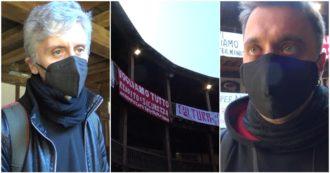 """Lavoratori spettacolo occupano il Globe Theatre di Roma: """"Fermi da un anno, siamo al limite. Ora riforma settore"""". C'è anche Ascanio Celestini"""