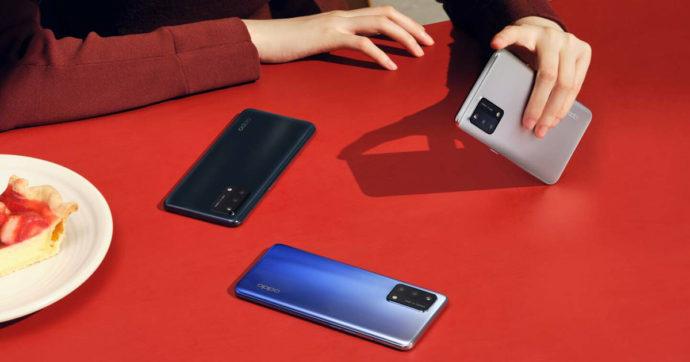Oppo, i nuovi smartphone A94, A74 5G e A54 5G arrivano in Italia