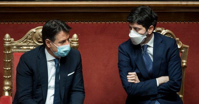 """Conte difende Speranza: """"Metterlo in discussione significa indebolire il governo"""". Draghi alla Lega: non alimentare polemiche"""