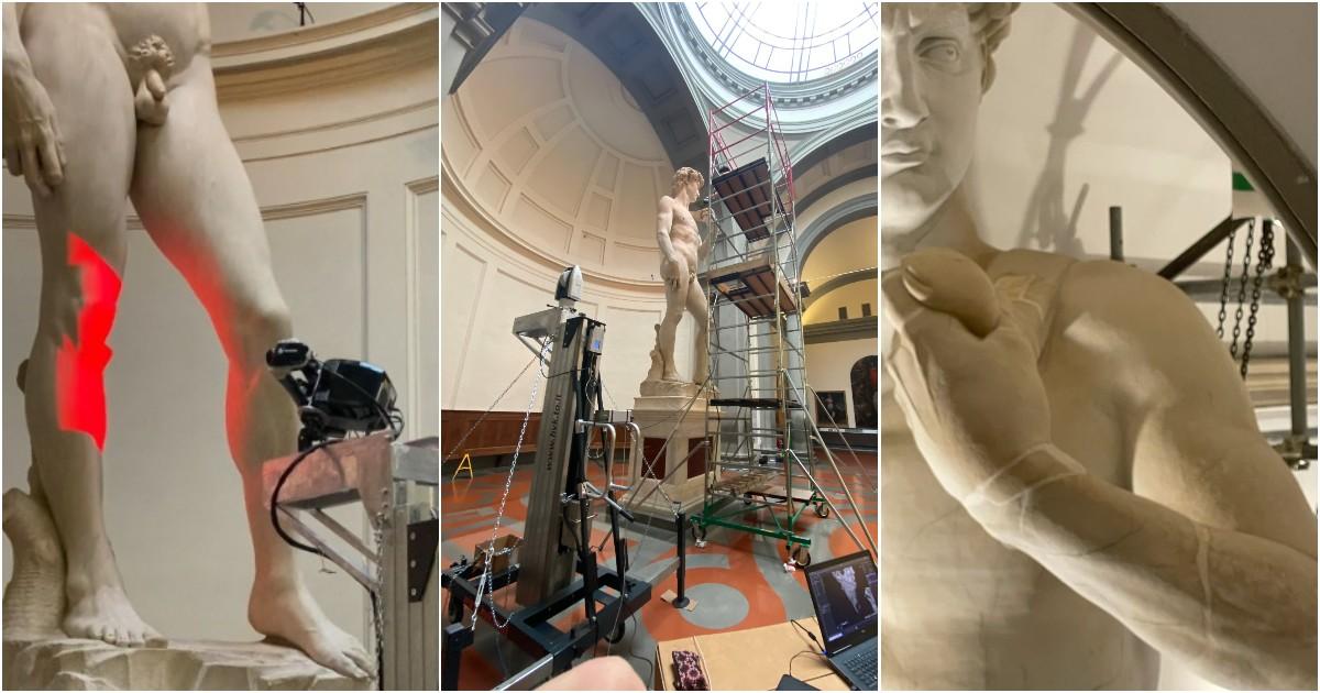 David di Michelangelo a Dubai: così in 48 ore è nato il gemello (identico fino alle imperfezioni) - Foto e video